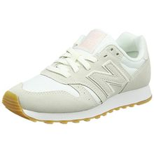 New Balance Damen Sneaker, Weiß (Cream), 41 EU (7.5 UK)