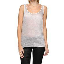 Drykorn Damen Shirt Top Yani, Farbe: Creme, Größe: S