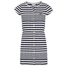 LACOSTE Kleid marine / weiß