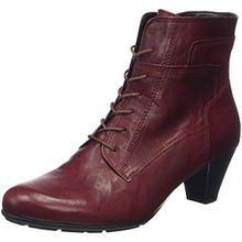 Gabor Shoes Damen Basic Kurzschaft Stiefel, Rot (Dark-Red 55), 39 EU