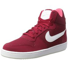 Nike Damen Court Borough Mid Sneaker, Rot (Noble Red/White/Solar Red/Pure Platinum), 38.5 EU