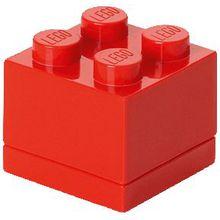 LEGO Aufbewahrungsdose Storage Brick 4er rot