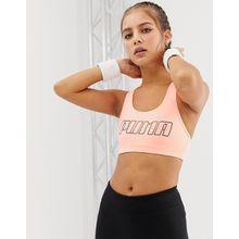 Puma – 4 Keeps – Sport-Bh in Rosa