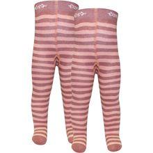 Ewers Baby Strickstrumpfhose Doppelpack für Mädchen, Ringel
