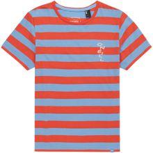 O'NEILL Shirt 'LB STRIPED S/SLV' blau / orange