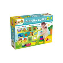 Lisciani Activity Cubes 2in1