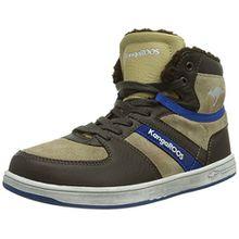 KangaROOS Kanga-Stuu 2013, Jungen Hohe Sneakers, Braun (dk brown/sand 313), 37 EU