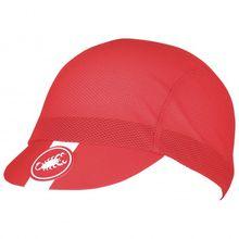 Castelli - A/C Cycling Cap - Radmütze Gr One Size rot;weiß/grau