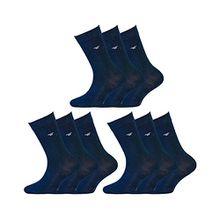 Tom Tailor Basic Kinder-Strümpfe 9erPack 9203 dunkel-blau KidsSocken Mehrfachpack 31-34