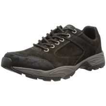 camel active Evolution 11, Herren Oxford Schnürhalbschuhe, Schwarz (charcoal/black 22), 42.5 EU (8.5 Herren UK)