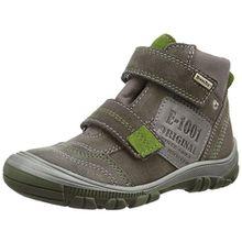 Richter Kinderschuhe Linz, Jungen Hohe Sneakers, Grau (Pebble/Cactus 6611), 32 EU