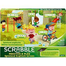 Mattel Games Scrabble Practice & Play - Spielend Englisch lernen