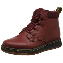 Dr. Martens Damen Telkes Cherry Red Temperley+Sports Space Combat Boots, Rot (Cherry Red), 43 EU