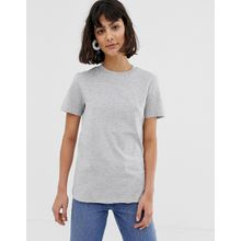 Selected Femme - My Perfect - Graues T-Shirt - Grau