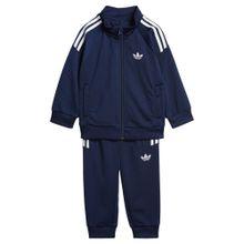 ADIDAS ORIGINALS Trainingsanzug dunkelblau / weiß