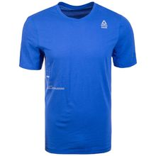 Reebok CrossFit Mesh Move Trainingsshirt Herren blau Herren