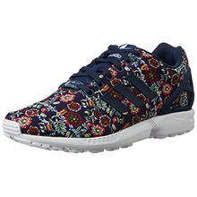 adidas Damen ZX Flux Sneakers, Mehrfarbig (St Dark Slate F13/St Dark Slate F13/Ftwr White), 37 1/3 EU