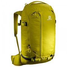Salomon - Qst 30 - Skitourenrucksack Gr 30 l oliv/gelb/orange;schwarz