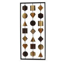 Wanddekoration Wohnaccessoires braun