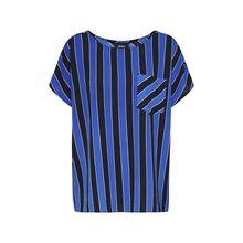 OBJECT Shirt OBJLIA TESS T-Shirts blau Damen