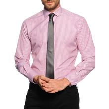 Milano Hemd Regular Fit + Krawatte in rot für Herren