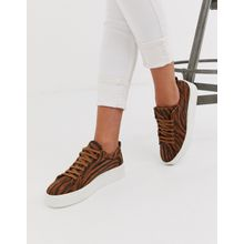 Vero Moda - Sneaker mit Tiger-Print - Mehrfarbig