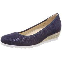 Gabor Shoes Damen Comfort Sport Geschlossene Ballerinas, Blau (Nightblue (Jute)), 40 EU