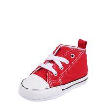 CONVERSE Sneaker 'FIRST STAR HI' rot / weiß