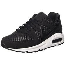 Nike Damen Wmns Air Max Command Sneaker, Mehrfarbig (Black/Black-White), 38.5 EU