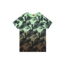S.Oliver Junior Shirt hellgrün / schwarz