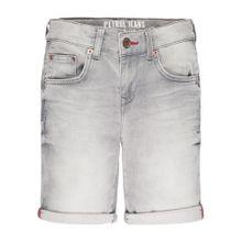 Petrol Industries Jeans-Shorts grau
