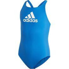 ADIDAS PERFORMANCE Badeanzug 'YA BOS SUIT' blau / weiß