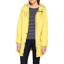 TOM TAILOR Damen Jacke Bonded Summer Raincoat, Gelb (Milky Sunflower Yellow 3512), Medium