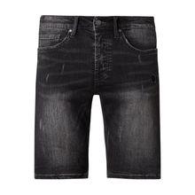 Regular Fit Jeansshorts mit Stretch-Anteil Modell 'Solomon'