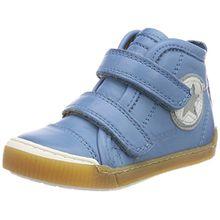 Bisgaard Unisex-Kinder Klettschuhe Hohe Sneaker, Blau (Sky Blue), 32 EU