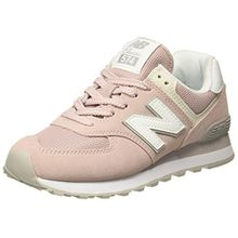 New Balance Damen WL574v2 Sneaker, Pink, 37.5 EU