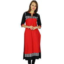 Phagun Ethnische Kurti indischen Bollywood Designer Kurta Women Casual Tunika Kleid
