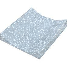 Wickelauflage 2-Keil Mulde, Tiny Squares Greenery, 65 x 50 cm