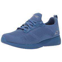 Skechers Bobs Damen Sneaker Squad Photo Frame Blau, Schuhgröße:EUR 39