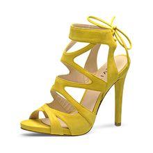 Evita Shoes Sandaletten gelb Damen