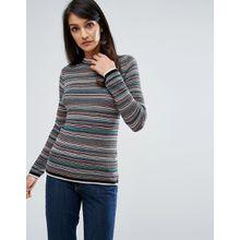 M.i.h Jeans - Bunt gestreifter Strickpullover - Mehrfarbig