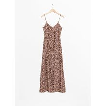 Leo Thin Strap Dress - Beige