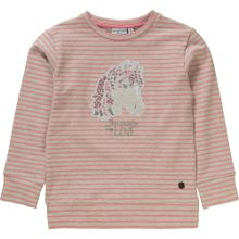 SALT AND PEPPER Sweatshirt grau / rosa