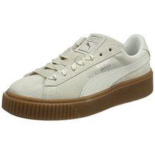 Puma Damen Suede Platform Bubble WN's Sneaker, Beige (Marshmallow), 37.5 EU