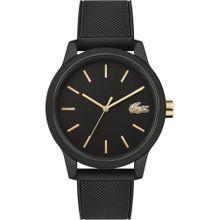 LACOSTE Uhr schwarz
