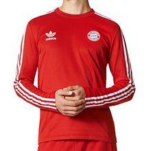 Adidas Sweatshirt Men Bayern Jersey AZ1226 Rot, Größe:S
