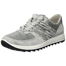 Legero Damen Amato Sneaker, Grau (Alluminio), 39 EU (6 UK)