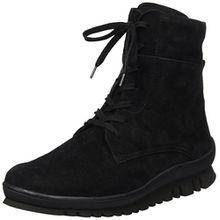 Semler Damen Frida Biker Boots, Schwarz (001 Schwarz), 40 2/3 EU