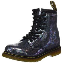 Dr. Martens Unisex-Kinder Delaney Tp Split Brogue Boots, Grau (Grigio), 35 EU