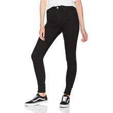 Cheap Monday Damen Skinny Jeans High Skin, Schwarz (Black Black), 27 W/30 L